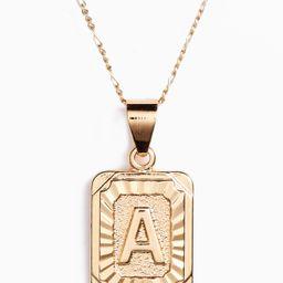 Women's Bracha Initial Pendant Necklace | Nordstrom