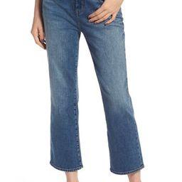 Women's Treasure & Bond Praise High Waist Flared Crop Jeans | Nordstrom