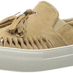 JSlides Women's Aztec2 Fashion Sneaker, Sand Suede, 7.5 M US | Amazon (US)