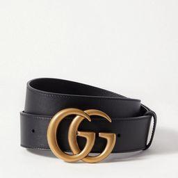 Gucci - Leather Belt - Black | Net-a-Porter (US)