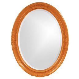 Howard Elliott - Queen Ann Orange Mirror, Neon Orange | Target