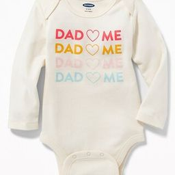 Old Navy Baby Graphic Bodysuit For Baby Humor Graphic Size 0-3 M   Old Navy US