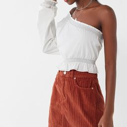 UO New York Minute Corduroy Skirt   Urban Outfitters (US and RoW)