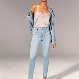 High Rise Jean Leggings   Abercrombie & Fitch US & UK