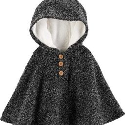 Fuzzy-Lined Cape Poncho   Carter's
