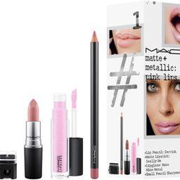 MAC Matte + Metallic Pink Lip Kit / Instant Artistry   Ulta Beauty   Ulta