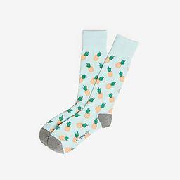 pineapple dress socks | Express