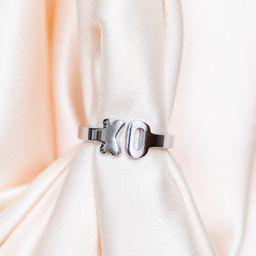 xo open ring   Cuffed by Nano
