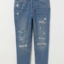 H&M+ Slim Mom Jeans Trashed | H&M (US)