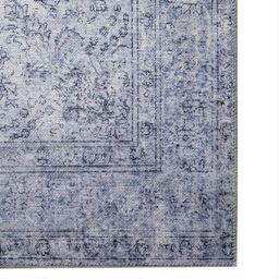 Slate Blue Distressed Presley Area Rug | World Market