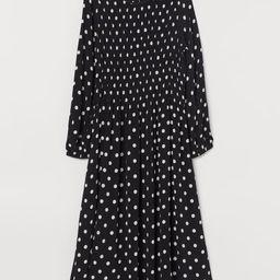 Dress with Smocking | H&M (US)