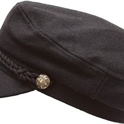 MIRMARU Women's Classic Mariner Style Greek Fisherman's Sailor Newsboy Hats with Comfort Elas... | Amazon (US)
