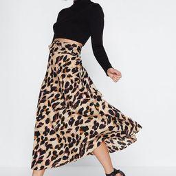 So Fierce leopard Midi Skirt | NastyGal (US & CA)