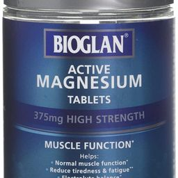 Bioglan Active Magnesium   Supports Muscle Function   120 Tablets, 120 Tablet   Amazon (UK)