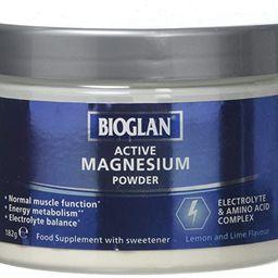 Bioglan Active Magnesium Powder   Zinc   Vitamin B2   Calcium   Potassium   Supports Muscle Funct...   Amazon (UK)