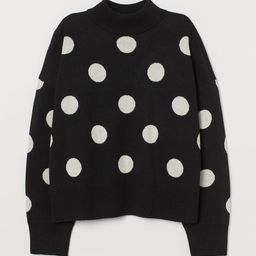 Knit Mock-turtleneck Sweater | H&M (US)