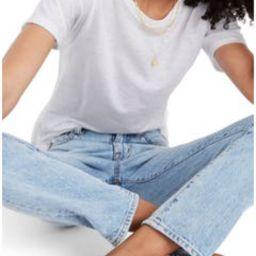 Madewell Whisper Cotton Ribbed Crewneck T-Shirt (Regular & Plus Size)   Nordstrom   Nordstrom
