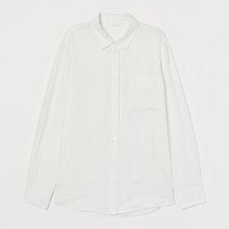 Linen Shirt   H&M (US)