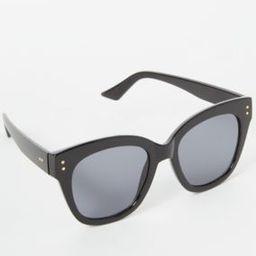 Black Oversized Cat Eye Sunglasses | rue21