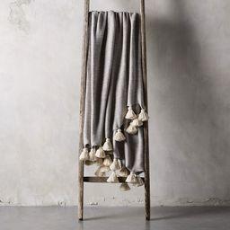 Marled Grey Knit Throw   Arhaus   Arhaus