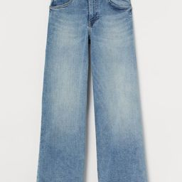 Wide Leg Cropped Jeans | H&M (US)