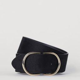 Wide Waist Belt   H&M (US)