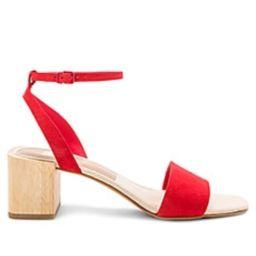 Dolce Vita Zarita Sandal in Red from Revolve.com   Revolve Clothing (Global)