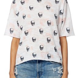 Portia Boxy Skull Print T-Shirt | Nordstrom Rack