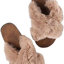 DKKK Women's Cute Animal Summer Linen Slippers Open Toe Non-Slip Rubber Sole House Sandals   Amazon (US)