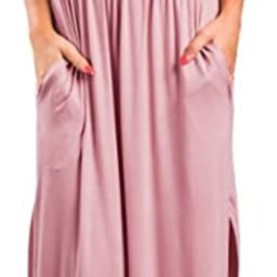 LILBETTER Womens Off The Shoulder Ruffle Party Dresses Side Split Beach Maxi Dress | Amazon (US)