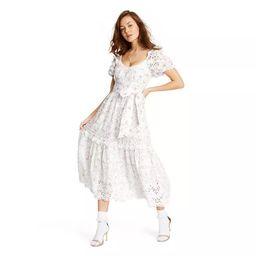 Women's Clementine Eyelet Dress - LoveShackFancy for Target (Regular & Plus) Ivory   Target