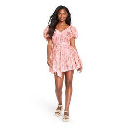 Women's Cécile Puff Sleeve Dress - LoveShackFancy for Target (Regular & Plus) Pink Melon | Target