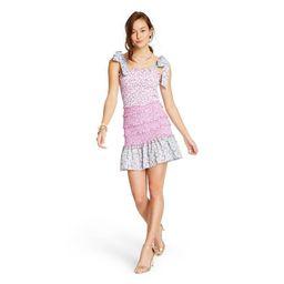 Women's Adeline Tie-Strap Smocked Ruffle Dress - LoveShackFancy for Target (Regular & Plus) Pink/... | Target