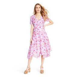 Women's Audrey Handkerchief Hem Dress - LoveShackFancy for Target (Regular & Plus) Light Pink   Target