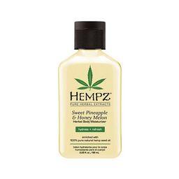 Hempz Sweet Pineapple & Honey Melon Herbal Body Moisturizer - Travel Size | Kohl's