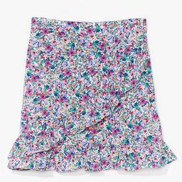 floral ruffle wrap mini skirt | NastyGal (US & CA)