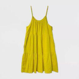 Women's Tiered Tank Dress - Universal Thread™   Target