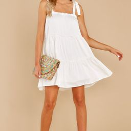 Only The Best White Dress | Red Dress