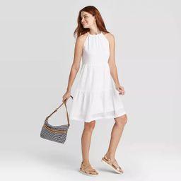Women's Sleeveless Tiered Dress - A New Day™ | Target