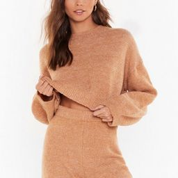 When in Doubt Knitted Shorts Lounge Set   NastyGal (US & CA)