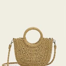 Straw Plaited Bag | SHEIN
