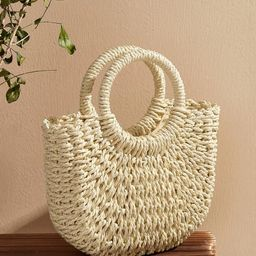 Woven Satchel Bag | SHEIN