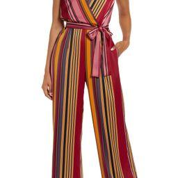 Stripe Wide Leg Jumpsuit   Nordstrom