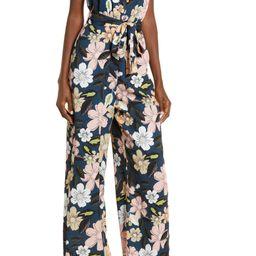 Floral Wide Leg Jumpsuit   Nordstrom