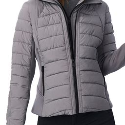 Hooded Quilted Water Repellent Jacket | Nordstrom