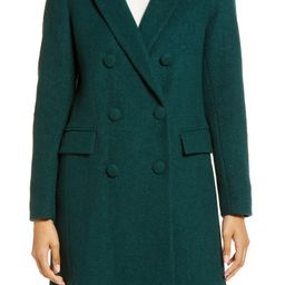 Double Breasted Bouclé Coat   Nordstrom