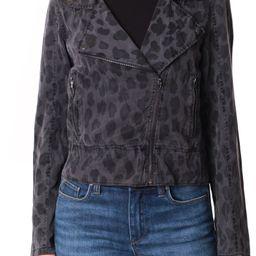 Leopard Print Moto Jacket | Nordstrom