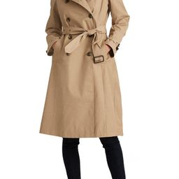Double Breasted Long Hooded Trench Coat | Nordstrom
