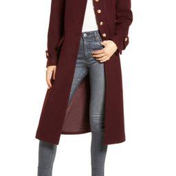 Wool Blend Fit & Flare Coat | Nordstrom