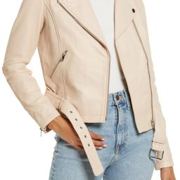 Leather Moto Jacket | Nordstrom